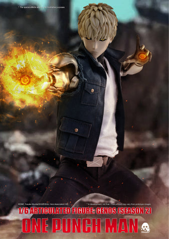 ThreeZero - One Punch Man (Seeason 2) - Genos (1/6 Scale)