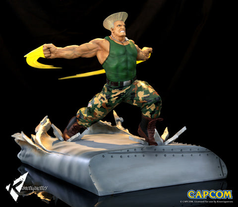 Kinetiquettes - Street Fighter - War Heroes - Guile (1/6 Scale Diorama)