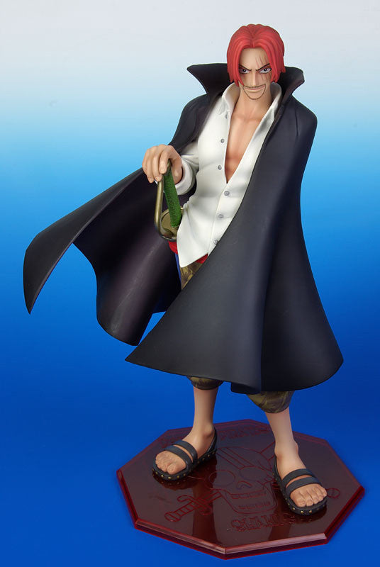 (IN STOCK) Shanks - One Piece - Portrait of Pirates P.O.P - Marvelous Toys - 1