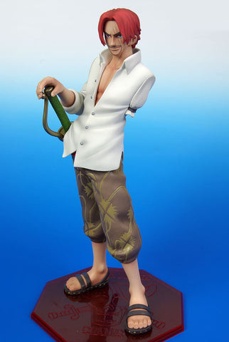 (IN STOCK) Shanks - One Piece - Portrait of Pirates P.O.P - Marvelous Toys - 2