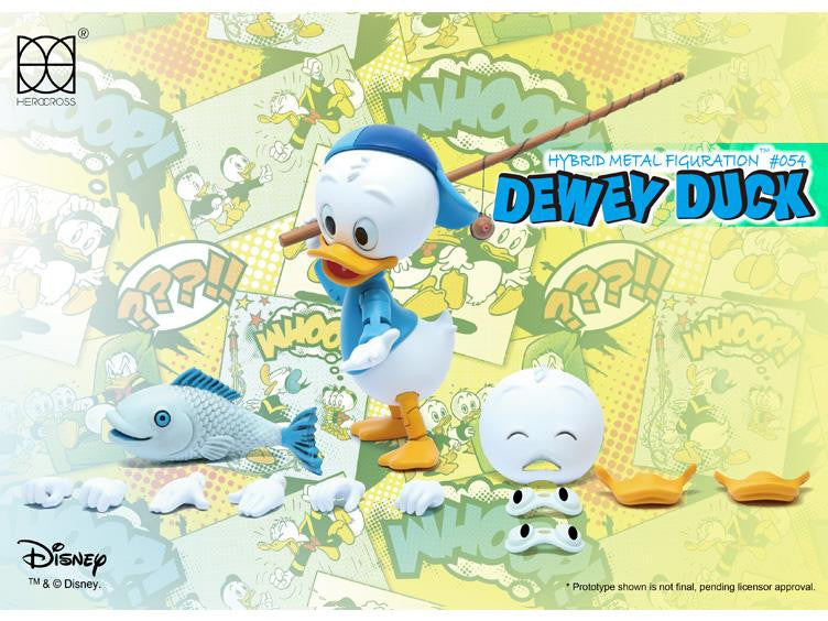 Herocross - Hybrid Metal Figuration - HMF054 - Dewey Duck