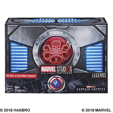 Hasbro - Marvel Legends - Marvel Studios: The First Ten Years - Red Skull and Life-Size Electronic Tesseract (SDCC 2018 Exclusive)
