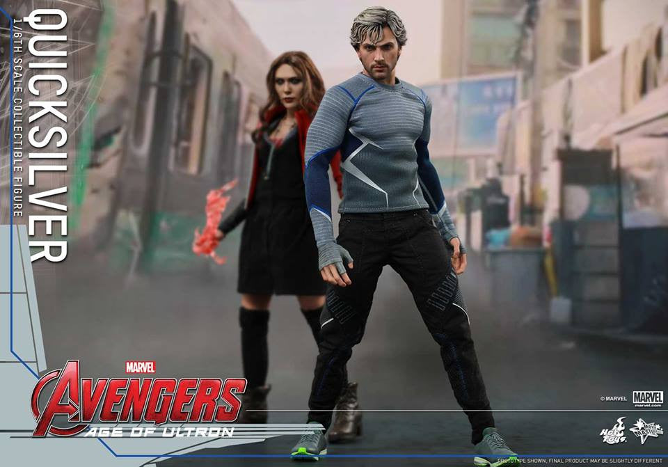 [In Stock] Hot Toys - MMS302 - Avengers: Age of Ultron - Quicksilver - Marvelous Toys - 3
