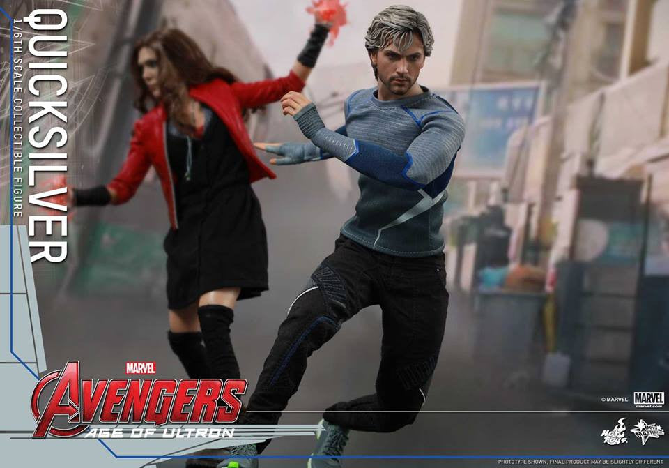 [In Stock] Hot Toys - MMS302 - Avengers: Age of Ultron - Quicksilver - Marvelous Toys - 4