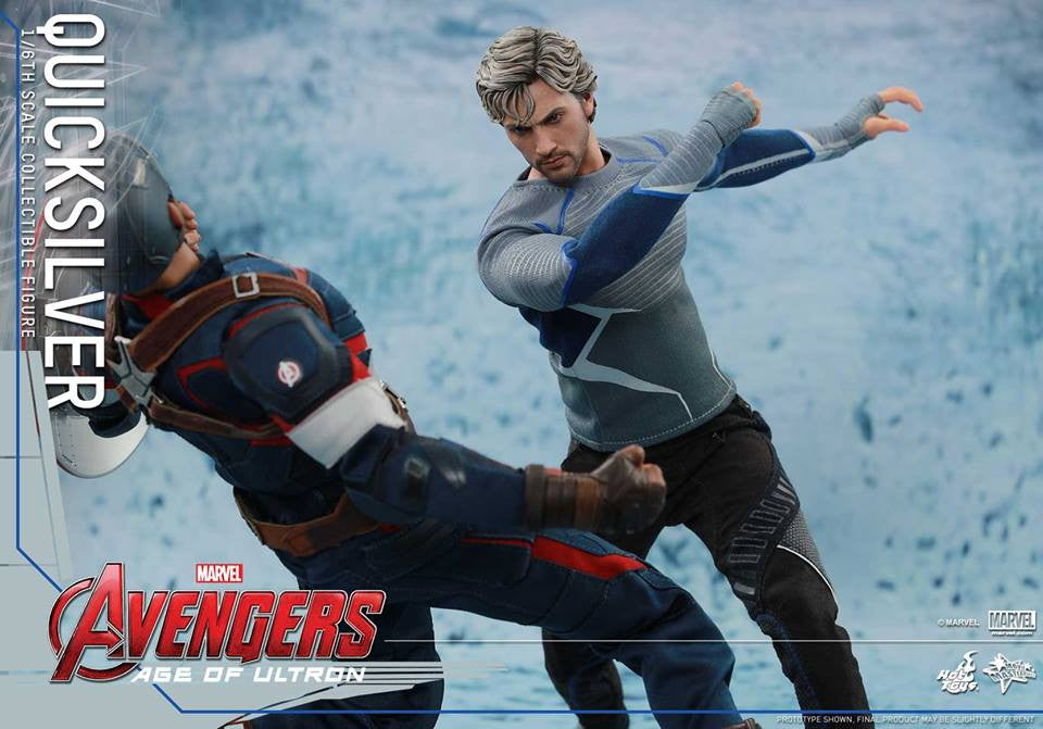 [In Stock] Hot Toys - MMS302 - Avengers: Age of Ultron - Quicksilver - Marvelous Toys - 5