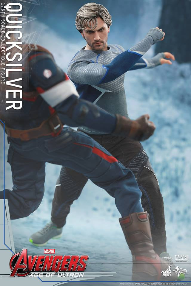 [In Stock] Hot Toys - MMS302 - Avengers: Age of Ultron - Quicksilver - Marvelous Toys - 8