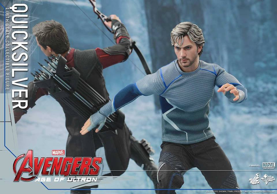 [In Stock] Hot Toys - MMS302 - Avengers: Age of Ultron - Quicksilver - Marvelous Toys - 9