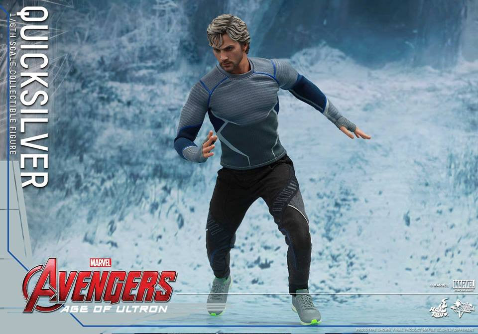 [In Stock] Hot Toys - MMS302 - Avengers: Age of Ultron - Quicksilver - Marvelous Toys - 12