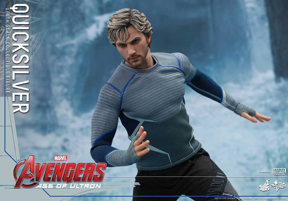 [In Stock] Hot Toys - MMS302 - Avengers: Age of Ultron - Quicksilver - Marvelous Toys - 13