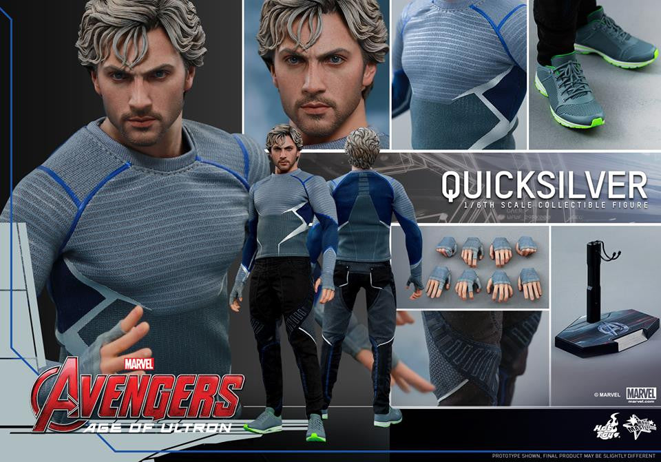 [In Stock] Hot Toys - MMS302 - Avengers: Age of Ultron - Quicksilver - Marvelous Toys - 15