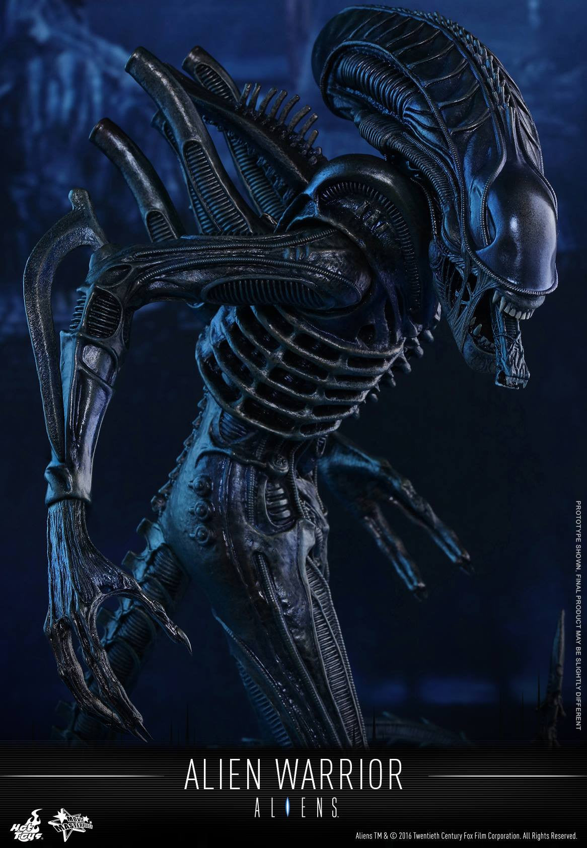 Hot Toys - Aliens: Alien Warrior MMS354 - Marvelous Toys - 1