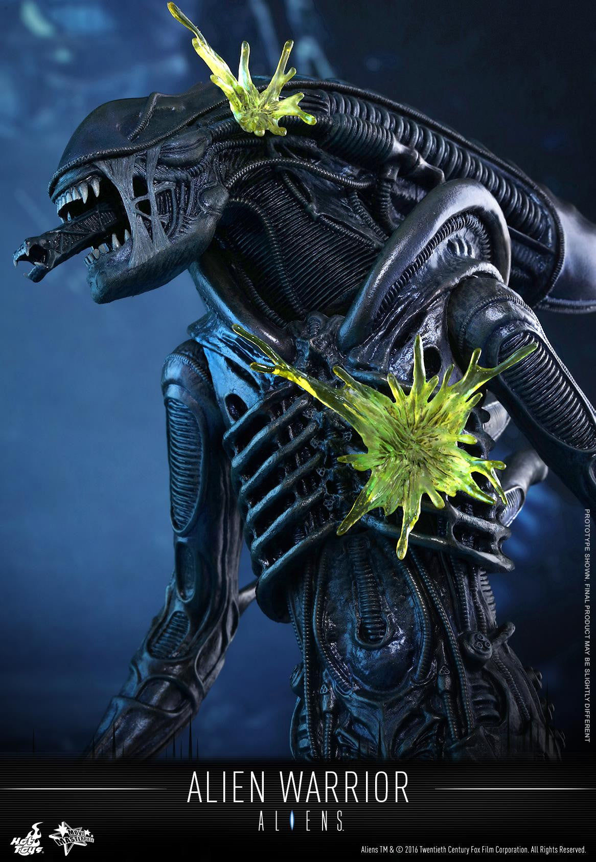 Hot Toys - Aliens: Alien Warrior MMS354 - Marvelous Toys - 6