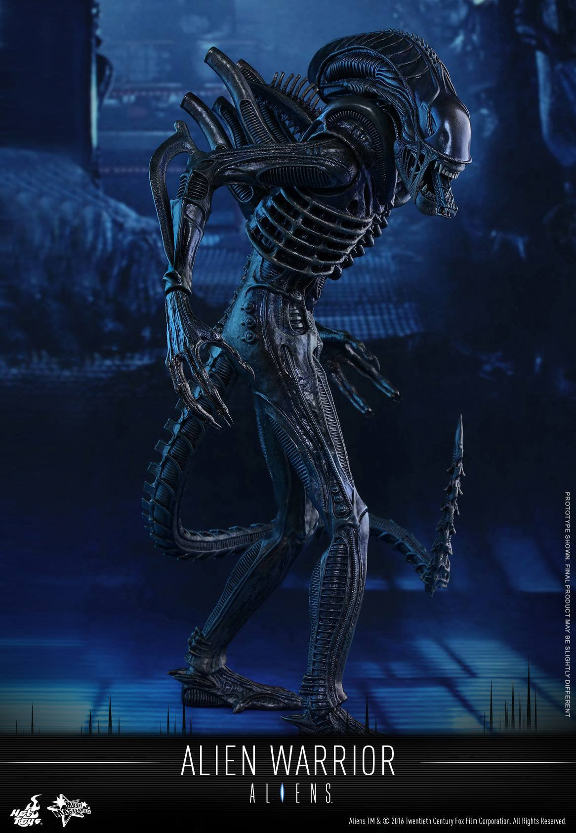 Hot Toys - Aliens: Alien Warrior MMS354 - Marvelous Toys - 9