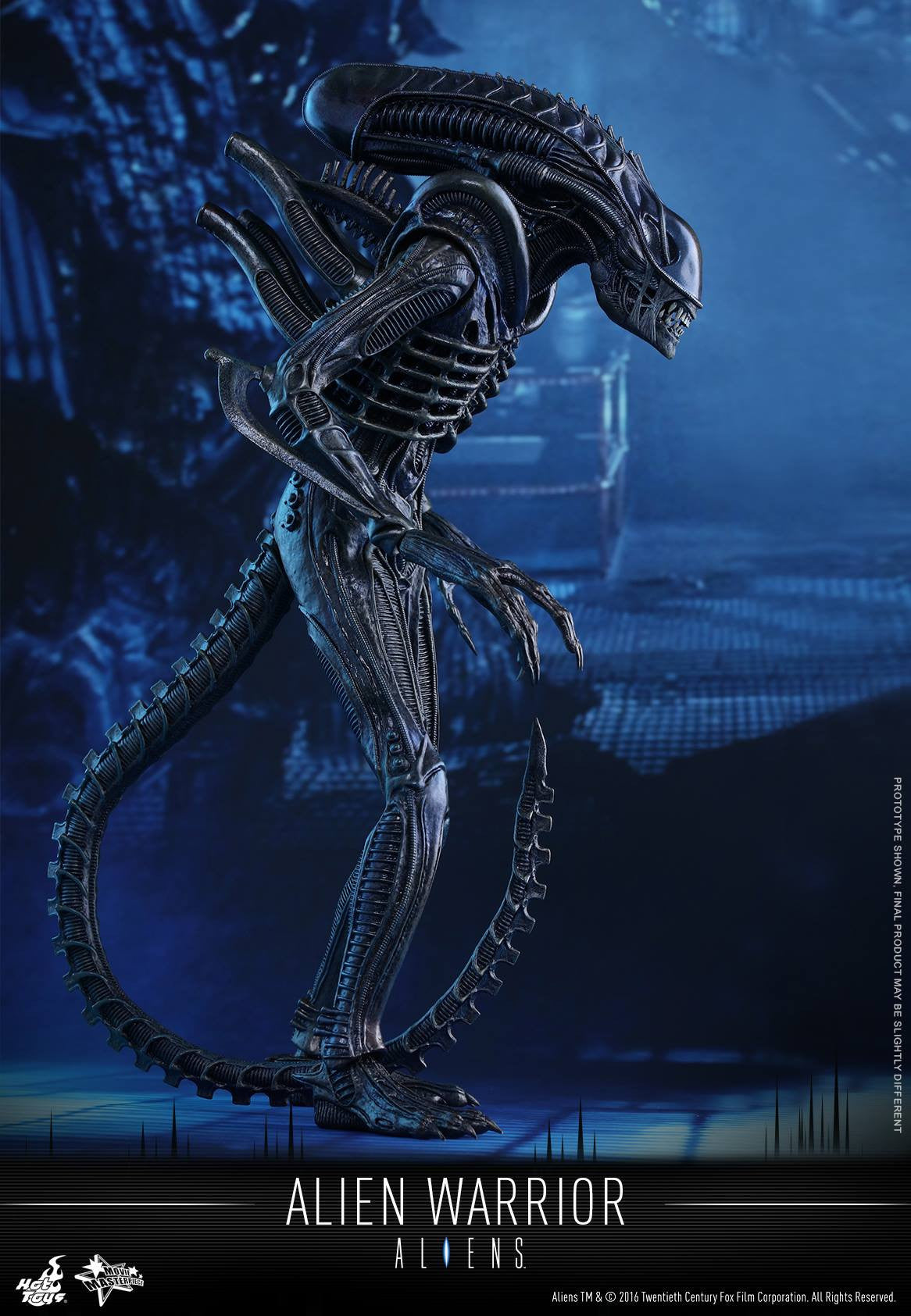 Hot Toys - Aliens: Alien Warrior MMS354 - Marvelous Toys - 10