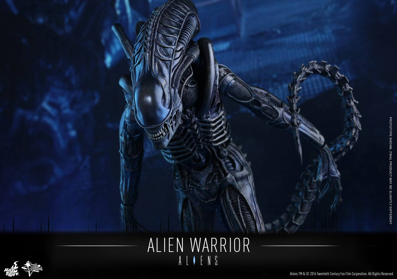 Hot Toys - Aliens: Alien Warrior MMS354 - Marvelous Toys - 12
