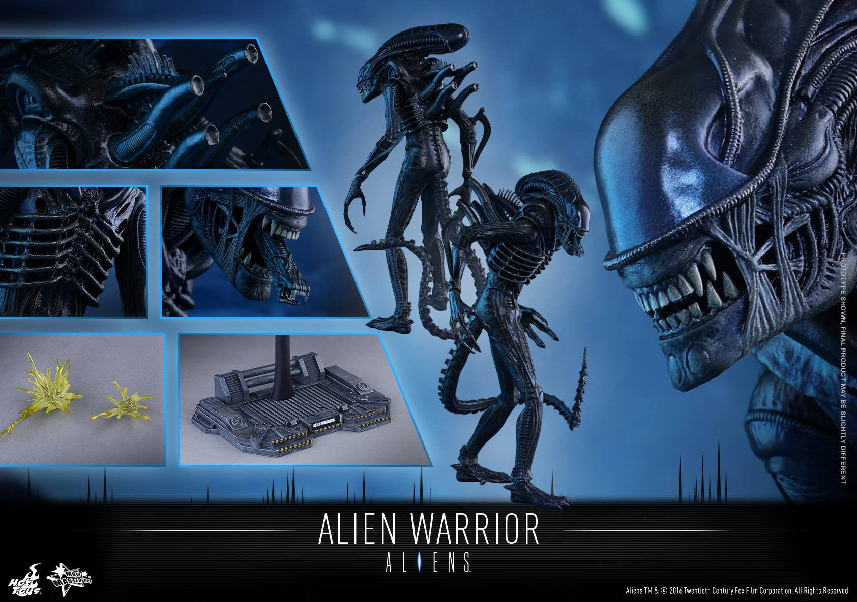 Hot Toys - Aliens: Alien Warrior MMS354 - Marvelous Toys - 17