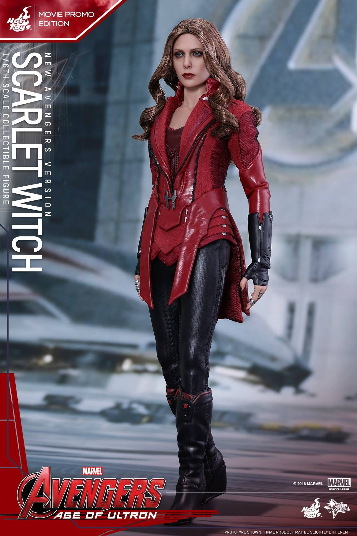 Toys - Avengers: Age of Ultron - Scarlet Witch (New Avengers Version) Movie Promo MMS357 - Marvelous Toys - 5