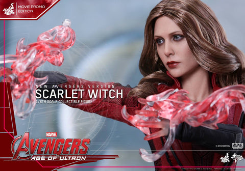 Toys - Avengers: Age of Ultron - Scarlet Witch (New Avengers Version) Movie Promo MMS357 - Marvelous Toys - 2