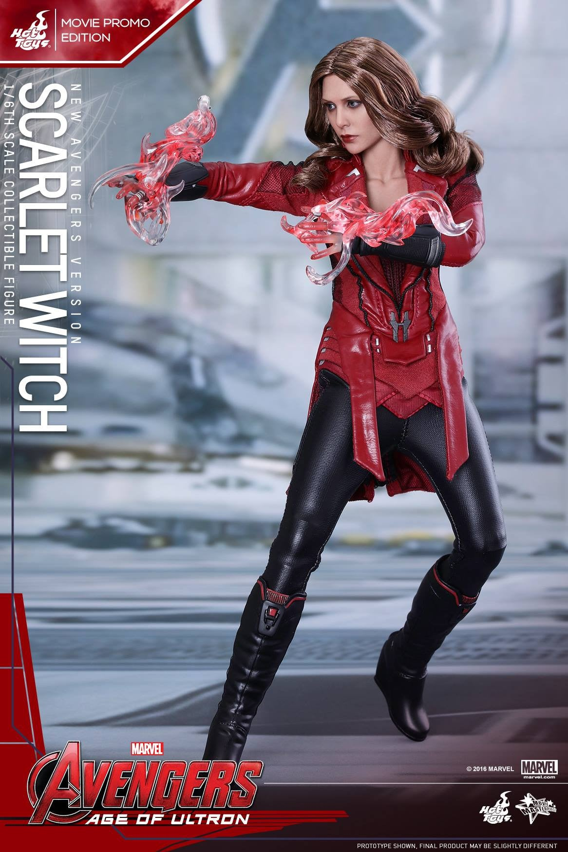Toys - Avengers: Age of Ultron - Scarlet Witch (New Avengers Version) Movie Promo MMS357 - Marvelous Toys - 6
