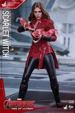 Toys - Avengers: Age of Ultron - Scarlet Witch (New Avengers Version) Movie Promo MMS357 - Marvelous Toys - 1