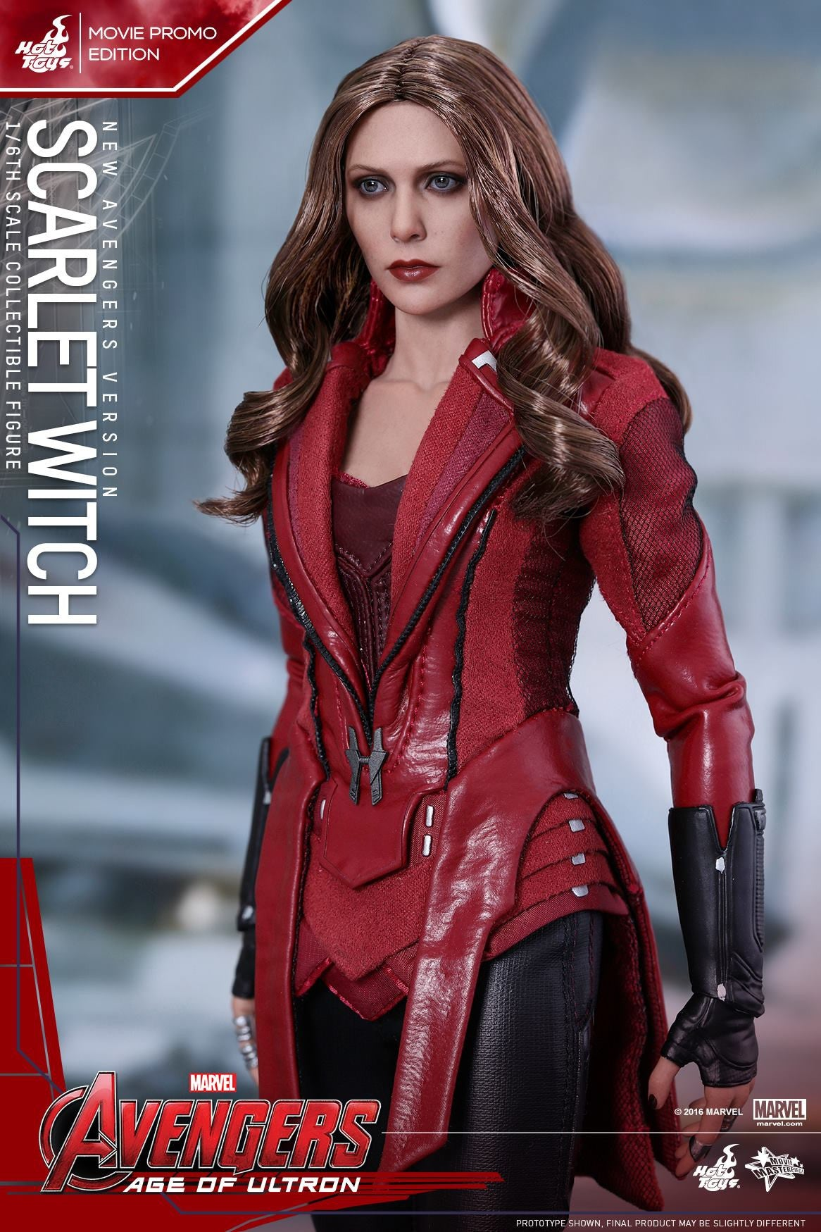 Toys - Avengers: Age of Ultron - Scarlet Witch (New Avengers Version) Movie Promo MMS357 - Marvelous Toys - 7