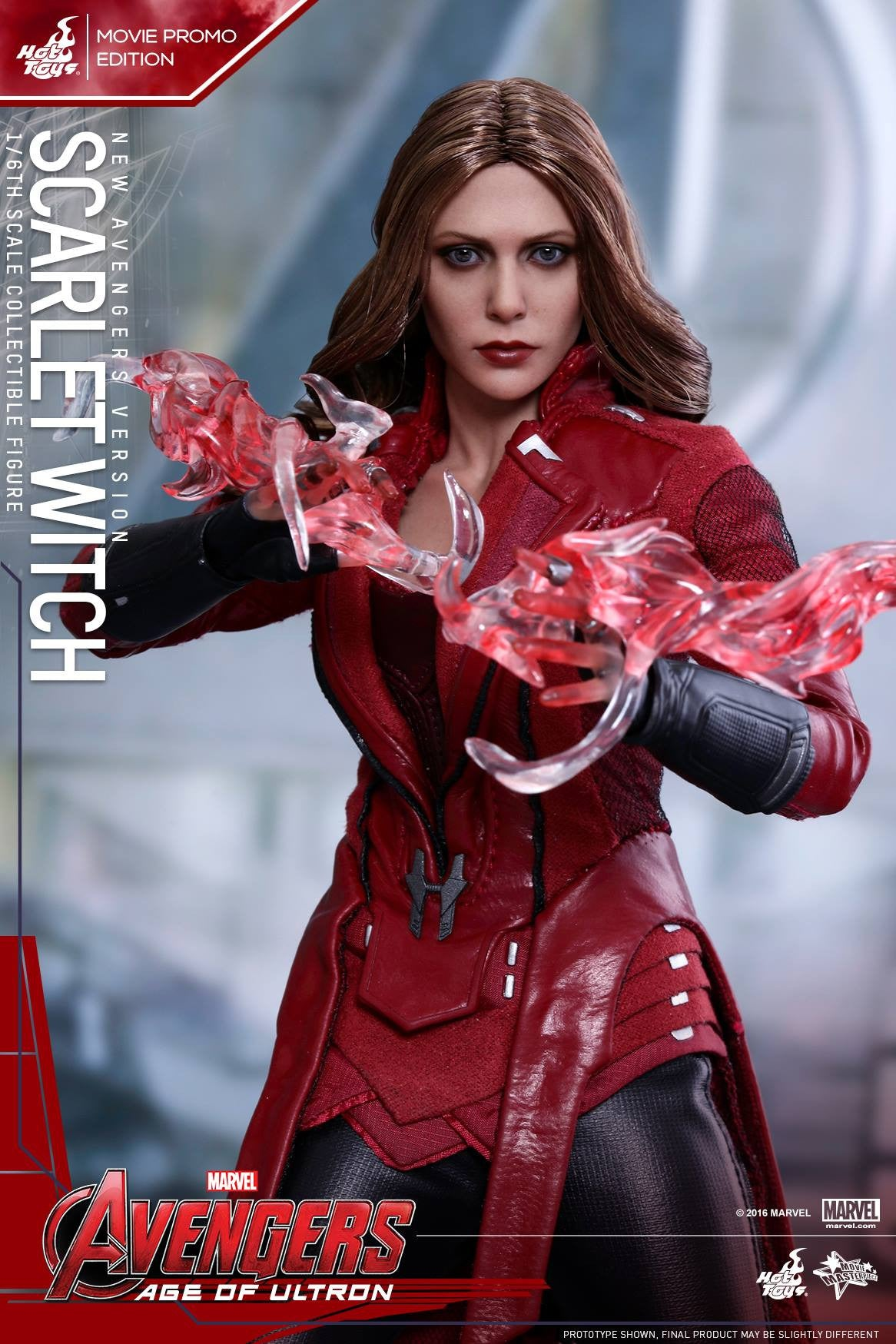 Toys - Avengers: Age of Ultron - Scarlet Witch (New Avengers Version) Movie Promo MMS357 - Marvelous Toys - 9
