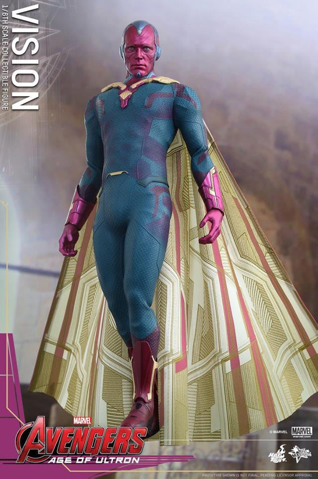 [In Stock] Hot Toys - MMS296 - Avengers: Age of Ultron - Vision - Marvelous Toys - 11