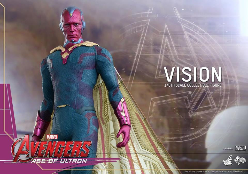[In Stock] Hot Toys - MMS296 - Avengers: Age of Ultron - Vision - Marvelous Toys - 10