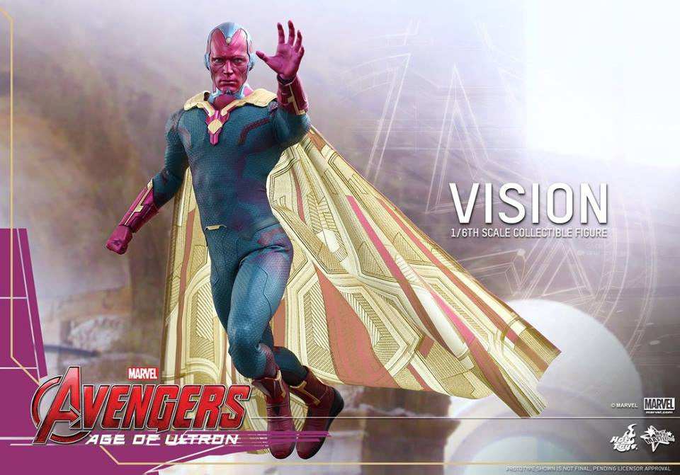 [In Stock] Hot Toys - MMS296 - Avengers: Age of Ultron - Vision - Marvelous Toys - 12