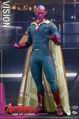 [In Stock] Hot Toys - MMS296 - Avengers: Age of Ultron - Vision - Marvelous Toys - 2