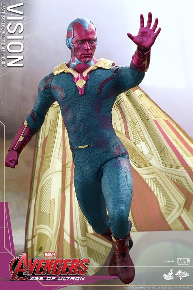 [In Stock] Hot Toys - MMS296 - Avengers: Age of Ultron - Vision - Marvelous Toys - 5