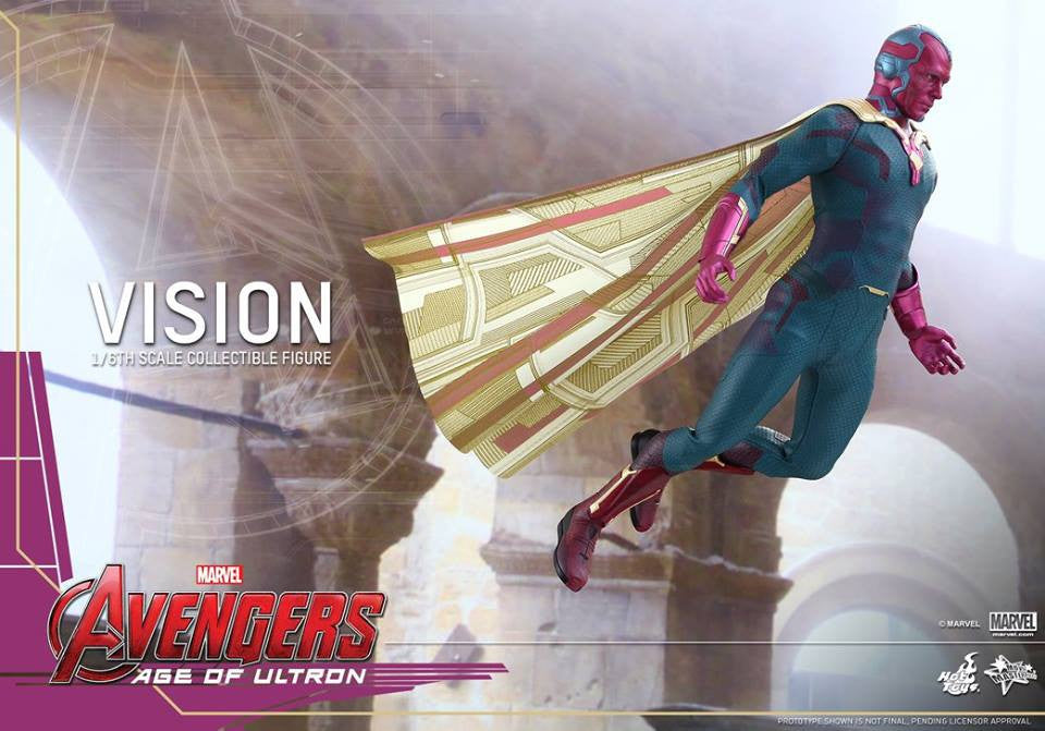 [In Stock] Hot Toys - MMS296 - Avengers: Age of Ultron - Vision - Marvelous Toys - 7