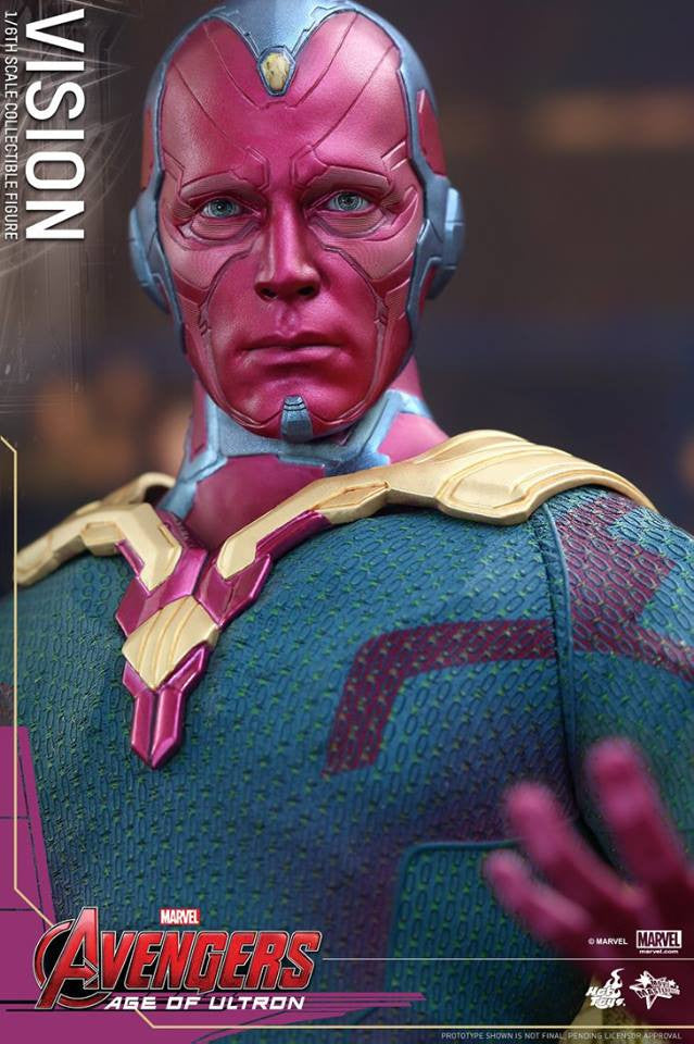 [In Stock] Hot Toys - MMS296 - Avengers: Age of Ultron - Vision - Marvelous Toys - 8