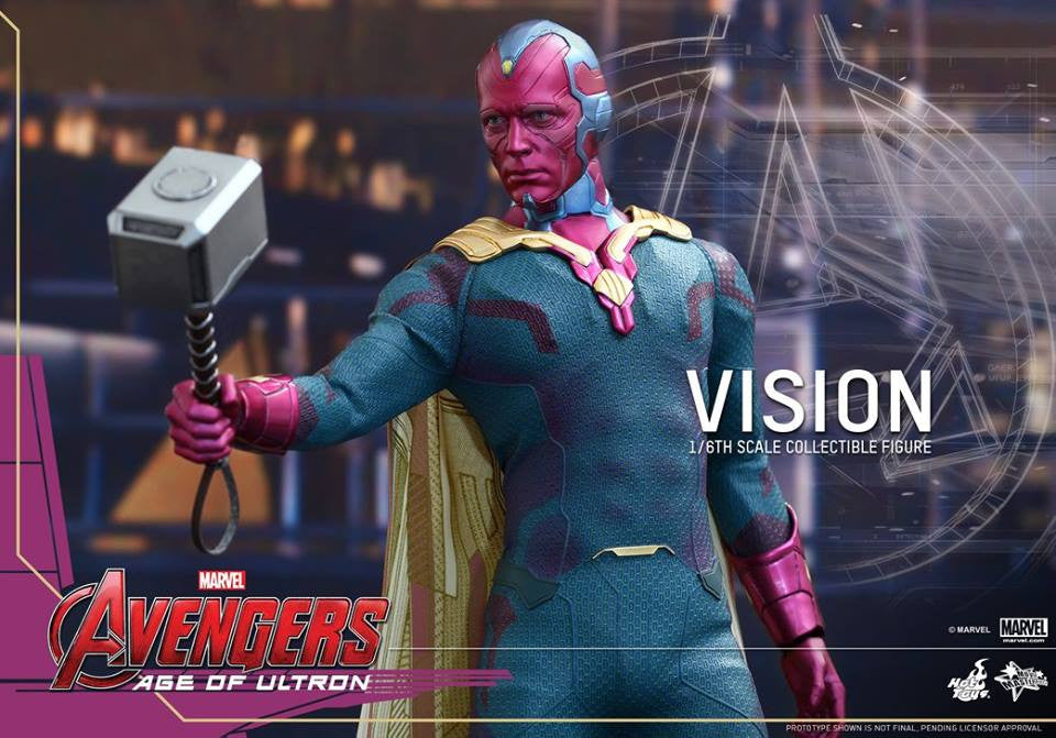 [In Stock] Hot Toys - MMS296 - Avengers: Age of Ultron - Vision - Marvelous Toys - 9