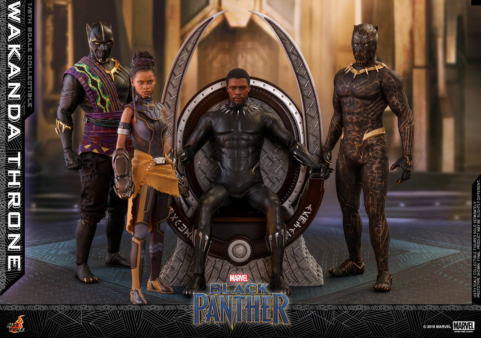 Hot Toys - ACS005 - Black Panther - Wakanda Throne (1/6 Scale)