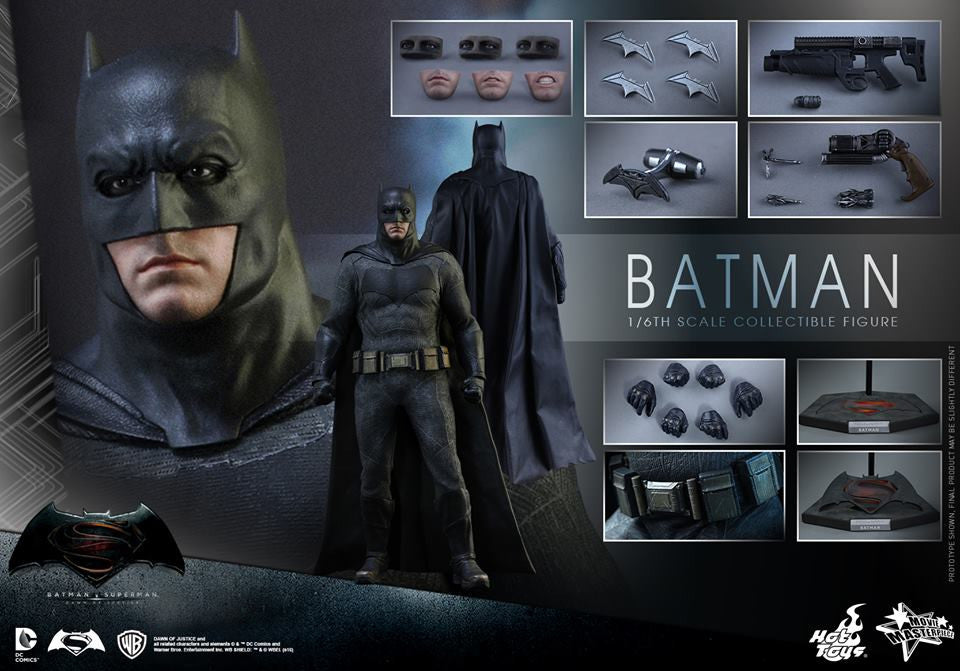 Hot Toys - Batman v Superman: Dawn of Justice - Batman MMS342 - Marvelous Toys - 19