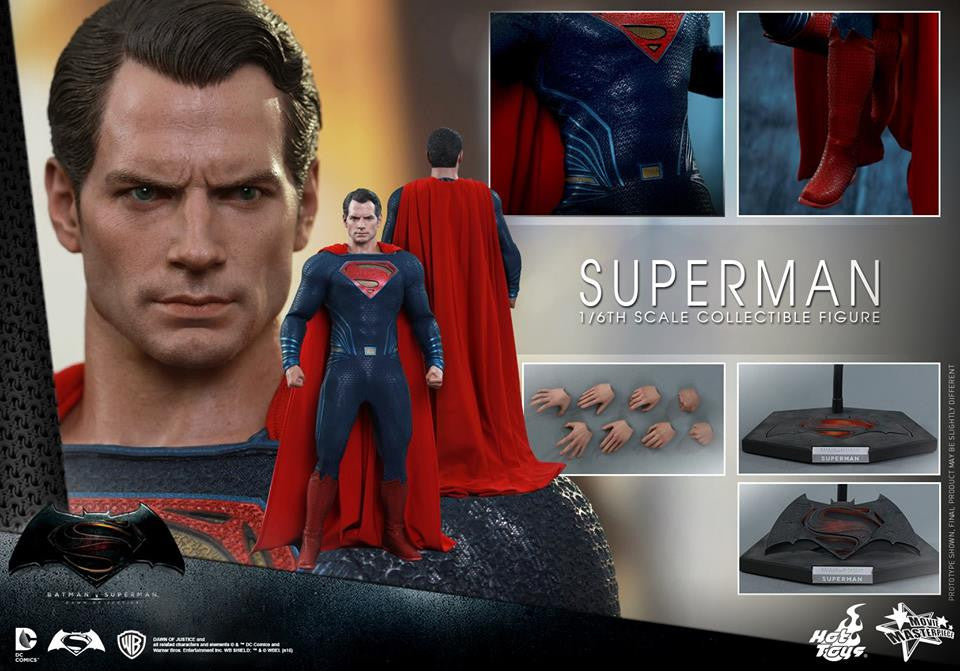 Hot Toys - MMS343 - Batman v Superman: Dawn of Justice - Superman - Marvelous Toys - 2