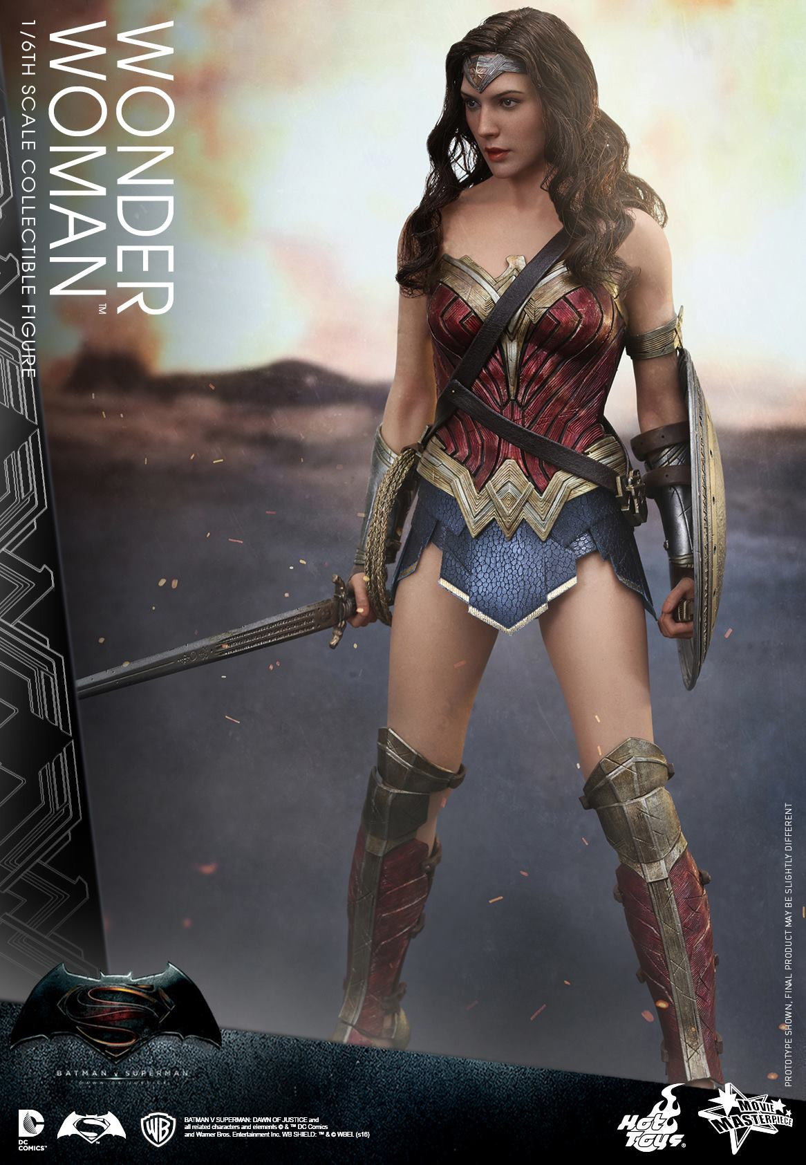 Hot Toys - Batman v Superman: Dawn of Justice - Wonder Woman MMS359 - Marvelous Toys - 1