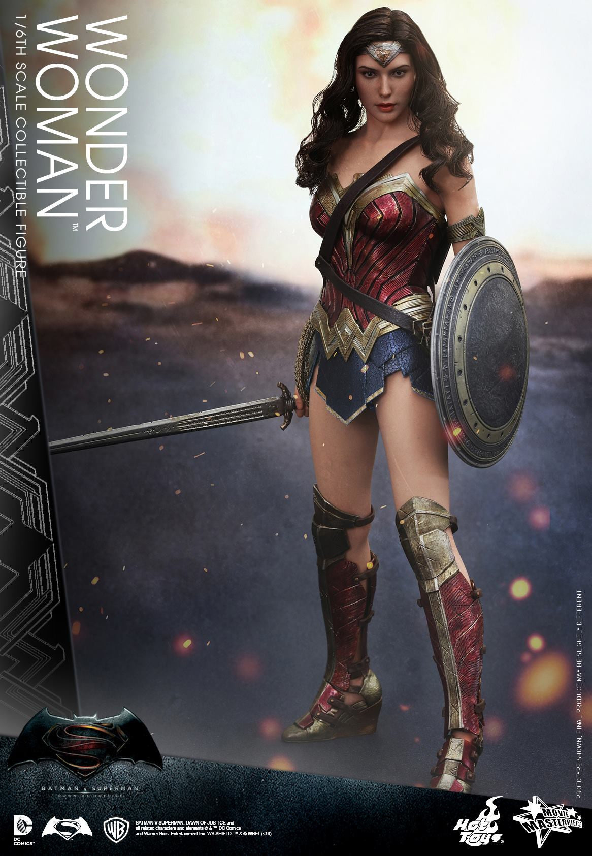 Hot Toys - Batman v Superman: Dawn of Justice - Wonder Woman MMS359 - Marvelous Toys - 4