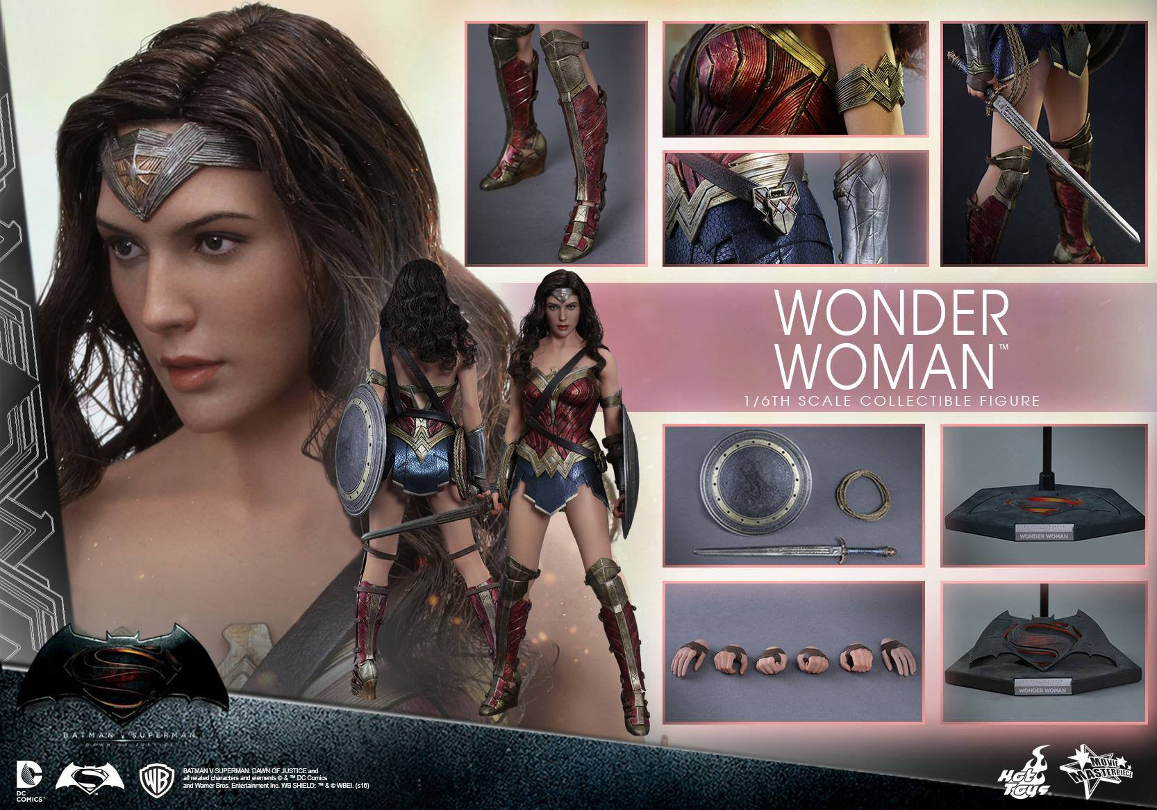 Hot Toys - Batman v Superman: Dawn of Justice - Wonder Woman MMS359 - Marvelous Toys - 2