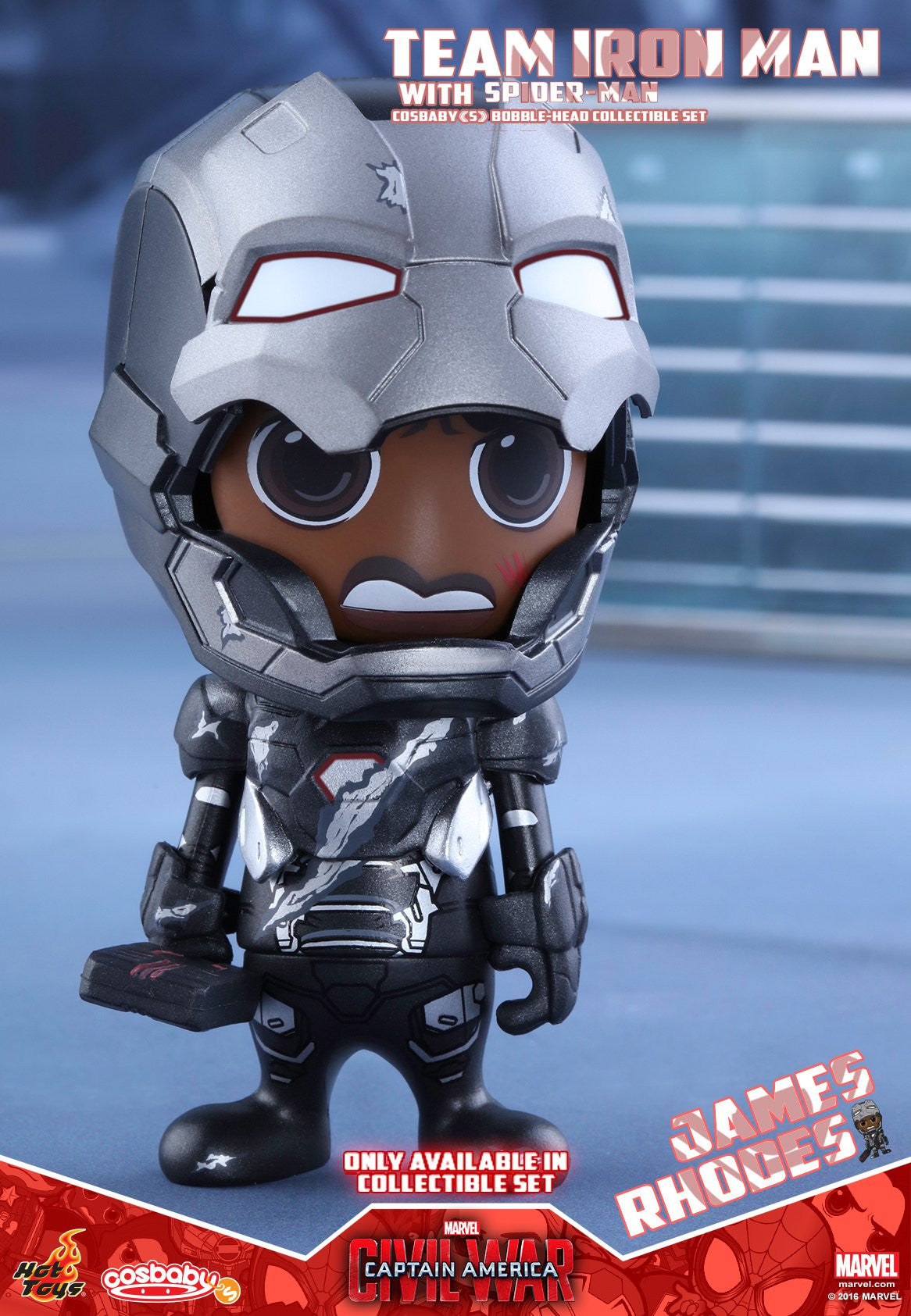 Hot Toys - COSB272 - Captain America Civil War – Team Iron Man With Spider-Man Cosbaby (S) Bobble-Head Collectible Set - Marvelous Toys - 4