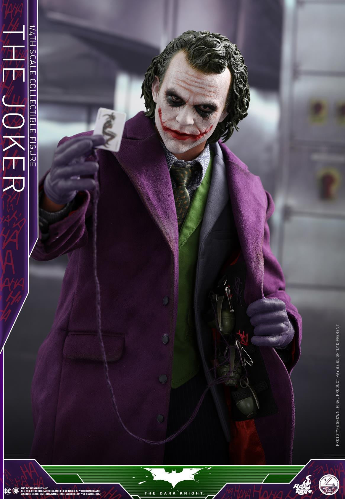 Hot Toys - QS010 - The Dark Knight - The Joker (1/4 Scale)
