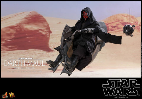 Hot Toys - DX17 - Star Wars: The Phantom Menace - Darth Maul with Sith Speeder