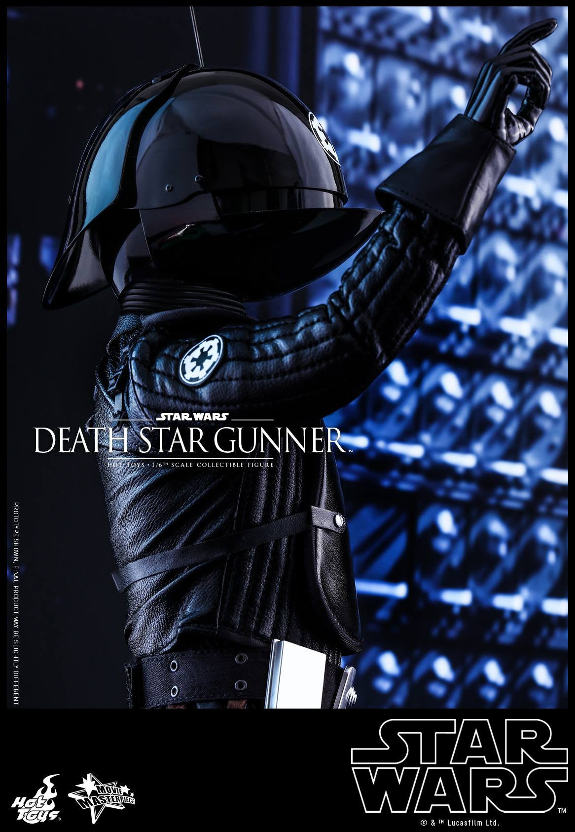 Hot Toys - MMS413 - Star Wars: Episode IV A New Hope - Death Star Gunner
