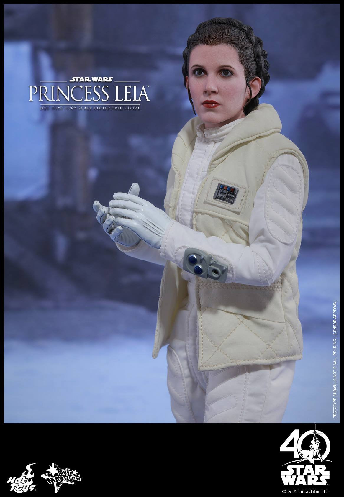 Hot Toys - MMS423 - Star Wars: The Empire Strikes Back - Princess Leia