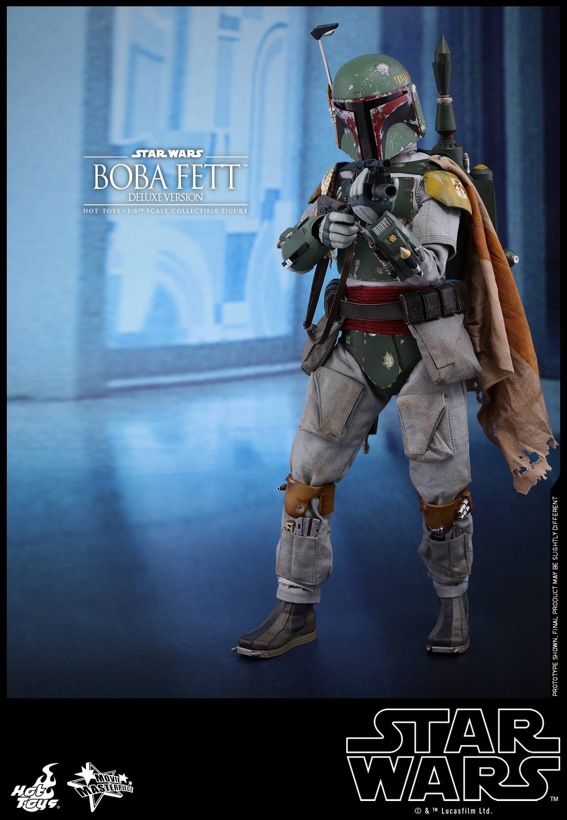 Hot Toys - MMS464 - Star Wars: The Empire Strikes Back - Boba Fett (Deluxe Version)
