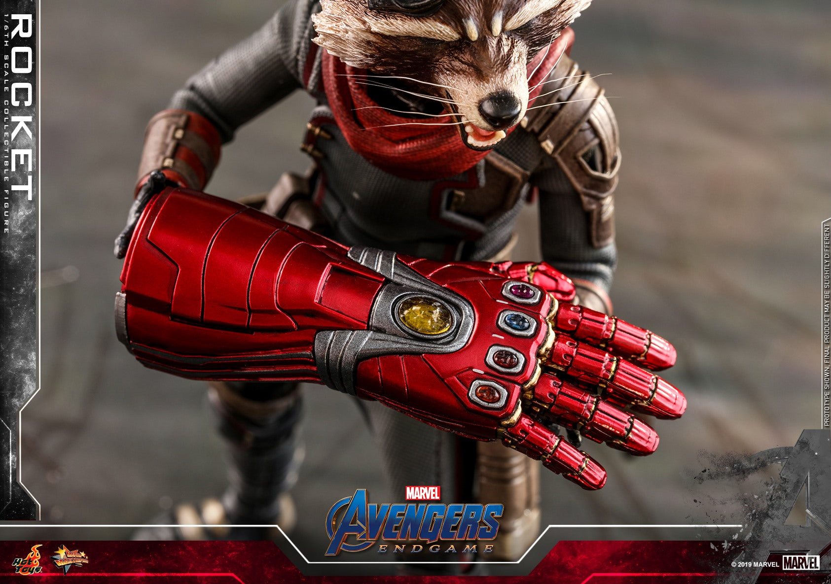 (IN STOCK) Hot Toys - MMS548 - Avengers: Endgame - Rocket Raccoon (1/6 Scale)