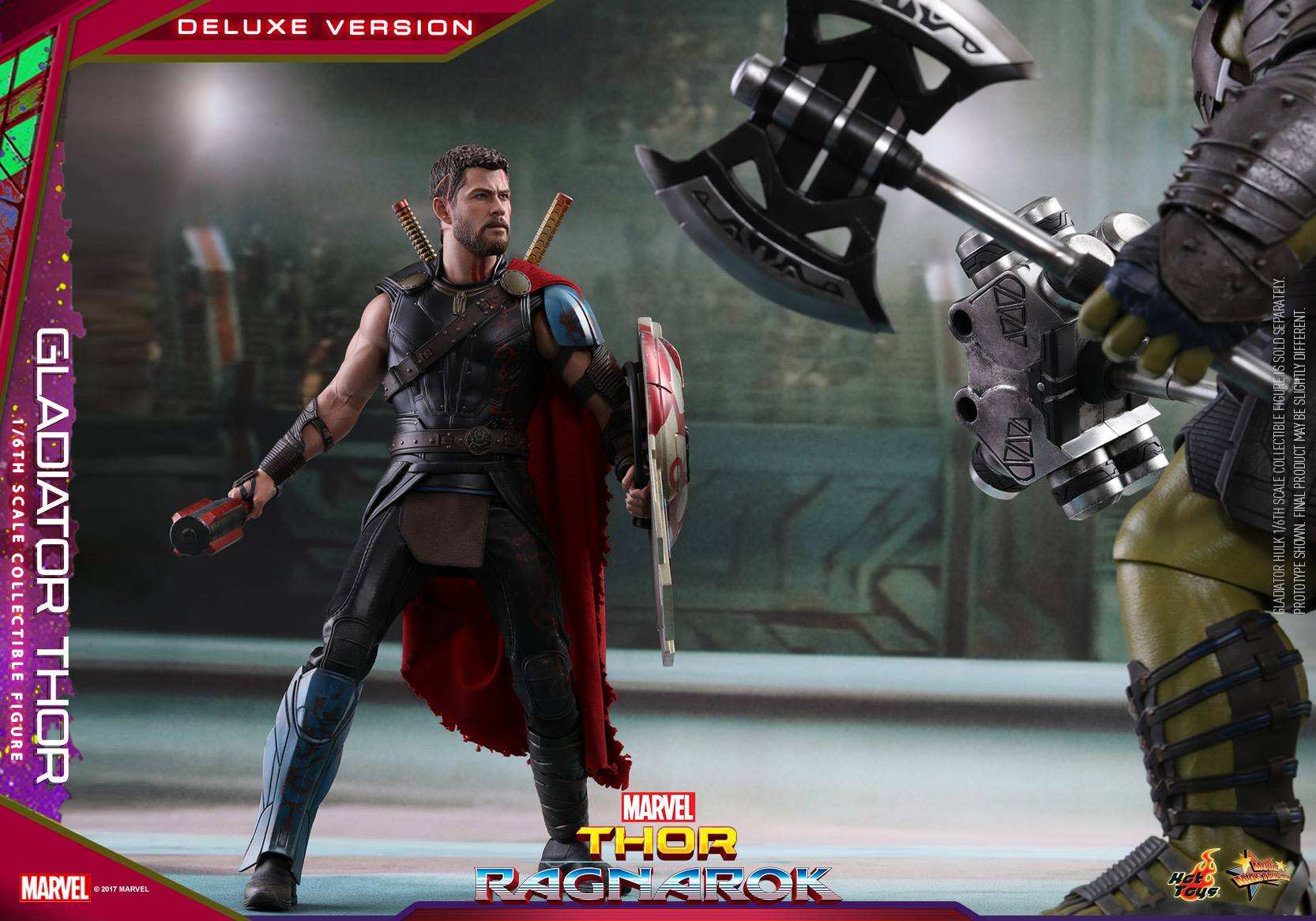 Hot Toys - MMS445 - Thor: Ragnarok - Gladiator Thor (Deluxe Version)