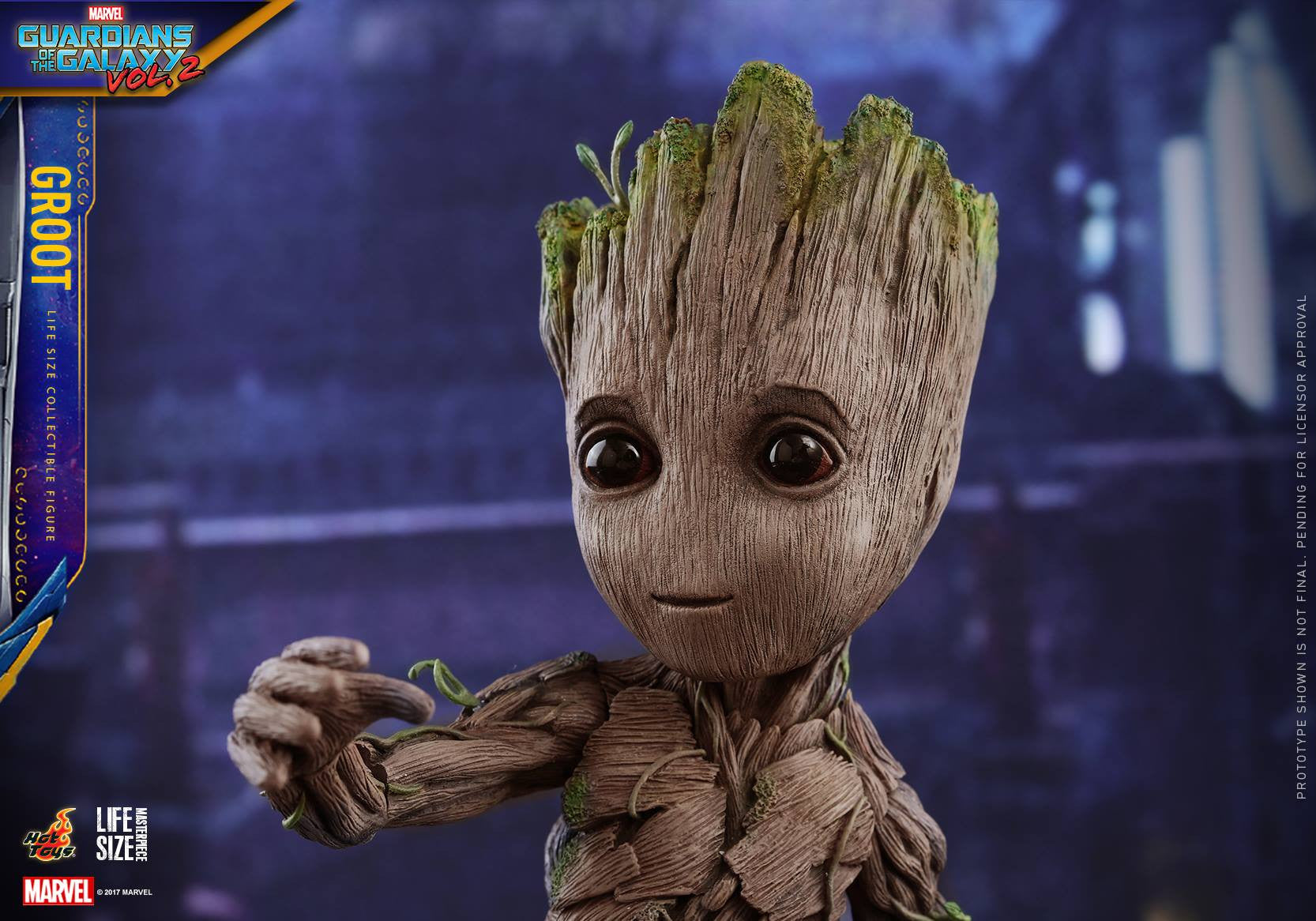 Hot Toys - LMS004 - Guardians of the Galaxy Vol. 2 - Baby Groot (Life-Size)