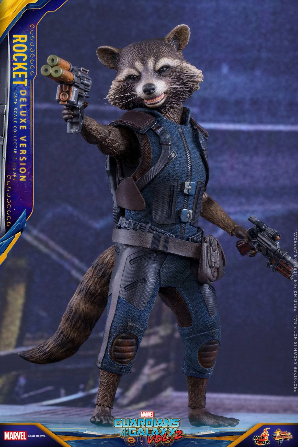 Hot Toys - MMS411 - Guardians of the Galaxy Vol. 2 - Rocket Raccoon (Deluxe Edition)